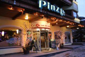 Entry City coffee bar at hotel Pinzger Tux