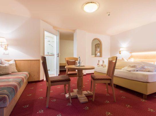 Komfort Doppelzimmer Hotel Pinzger Tux