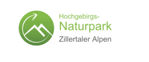 high alps nature park zillertaler alps logo