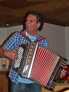 Hotel Pinzger Tux Christian Rahm owner host styrian harmonica